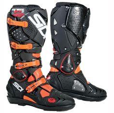 Sidi Crossfire 2 SRS Boots Black/Flo Orange