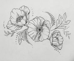 Poppy tattoo!! Interested in custom tattoo design? Check out my work on Instagram! Clairestewart25 or email me at clairestokes93@yahoo.com!