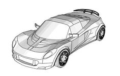 Hennessey Venom GT Paper Car Free Vehicle Paper Model Download