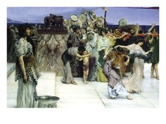 A Consecration of Bacchus, Detail - by Sir Lawrence Alma-Tadema - Wall Decal