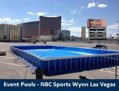 Legacy Above Ground Portable Pools are the queen of the backyard. Legacy is the best known name in these types of pools. Best Above Ground Pool, Above Ground Swimming Pools, In Ground Pools, Big Pools, Cool Pools, Portable Pools, Wynn Las Vegas, Pool Decks, Backyard Pools