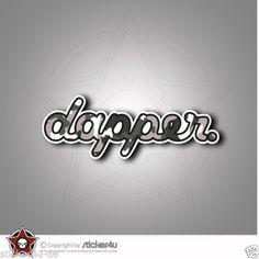 925D-Dapper-Sticker-Aufkleber-JDM-OEM-DUB-VAG-Stickerbomb-Turbo-illest