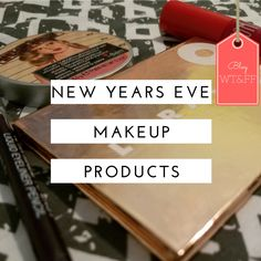 It's New Year's Eve and a lot of people are going out to have a good time. Whether it's at home or out and about tonight is the one night where there's the freedom to go all out. Bring the GLITTER. Bring the SPARKLES. Bring the in your face POPS of color.  Here are some are some great makeup products to help you achieve just that.