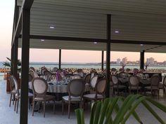 Urmează un eveniment important în viața ta ? Lasă-ne să te ajutăm să-ți îndeplinești visul !   Restaurantul TurQuoiSE  iți oferă o locație deosebită cu deschidere la malul mării unde te poți bucura de până la 450 de invitați pentru orice tip de eveniment privat (nuntă, cununie civilă în aer liber pe terasă cu piscină sau pe plajă, botez, logodnă, aniversare, majorat) sau corporate (seminarii, conferințe, ședințe, aniversări, petrecere crăciun, workshop-uri, team building-uri, evenimente… Marie, Restaurant, Outdoor Decor, Home Decor, Littoral Zone, Decoration Home, Room Decor, Diner Restaurant, Restaurants
