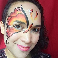 Face Painting in Greenpoint, Williamsburg, Long Island City, Astoria, Sunnyside. Book a Face Painter for your next birthday party Long Island City, Carnival, Nyc, Butterfly, Painting, Carnavals, Painting Art, Paintings, Painted Canvas