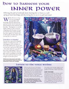 The Witch Is In • Wiccan basic pages for your Book of Shadows. This...