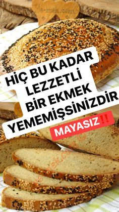 Tasty Bread Recipe, Most Delicious Recipe, Bread Recipes, Good Food, Yummy Food, Iftar, Turkish Recipes, How To Make Bread, Bon Appetit