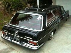 Mercedes W108 Hearse - On Air | Retro Rides