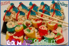 candy sushi - Google Search