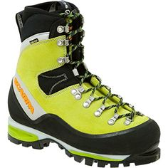 Scarpa Women's Mont Blanc GTX Mountaineering,Kiwi,38 M EU /7 M US Women *** See this great product.