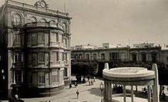 Plaza de Ecuador, 1955 (Almería)