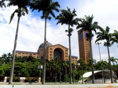 Catedral Nuestra Señora de Aparecida, Aparecida, Brasil Taj Mahal, Building, Brazil, Buildings, Construction