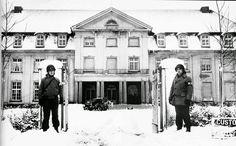 Malmedy, 30th Division Headquarter, january 1945.