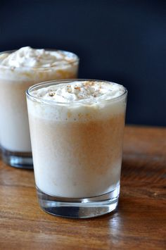 Boozy Pumpkin White Hot Chocolate Recipe
