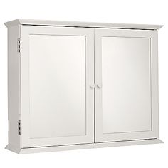 Buy John Lewis St Ives Double Mirrored Cabinet Online At JohnLewis.com   John  Lewis