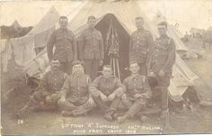 """4th Troop, """"""""A"""" Squadron, 20th Hussars - Pond Farm Camp 1908   Flickr - Photo Sharing!"""