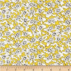 Liberty of London Tana Lawn Dynasty Yellow