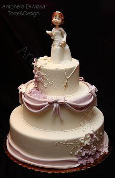 誕生日 生日 Birthday    first communion girl Fondant Cakes, Cupcake Cakes, Comunion Cakes, First Holy Communion Cake, Confirmation Cakes, Christening Cakes, Religious Cakes, Amazing Wedding Cakes, Amazing Cakes