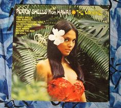 The Waikikis Pearly Shells from Hawaii (1960s,Easy Listening LP Vinyl Record )$5
