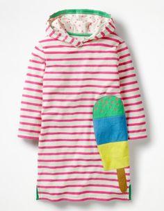 Appliqué Towelling Beach Dress