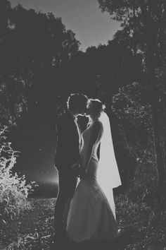 Love the idea of getting picture of bride and groom in dark during reception. little time alone during the party and pretty picture