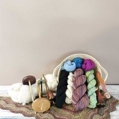 Learn how to make your own yarn with a hand spindle, a tool that's hardly changed since the Stone Age. Everything from needed tools to how to get started. Spinning Wool, Hand Spinning, Knitting Stitches, Knitting Patterns, Roving Wool, Paper Towel Tubes, Animal Fibres, Mother Earth News, Plant Fibres