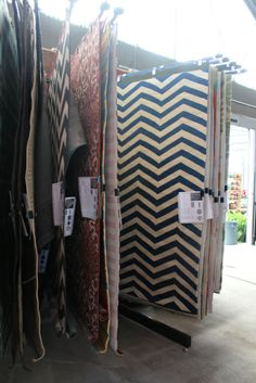 Surya Outdoor rugs (or great for animals) at The Barn Nursery, Chattanooga,