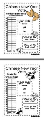 Chinese New Year Graphing Freebie!