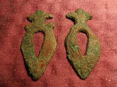 Bronze Belt Ornaments. Circa 9th-12th Century