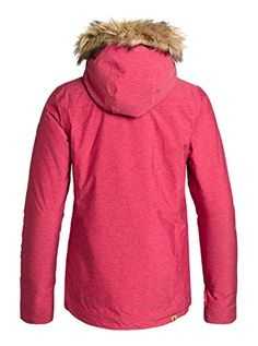 Roxy Womens Grove Jacket Pompeian Red XLarge ** Click affiliate link Amazon.com on image for more details.