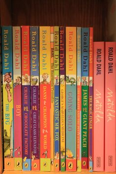 Among all of the fluff, there are a lot of good books for tweens, including the ones you read when you were that age. I Love Books, Great Books, Books To Read, My Books, Roald Dahl Books, Book Authors, Good Books For Tweens, Roald Dahl Collection, Love Reading