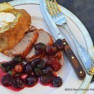 Gyro Rotisserie Grilled Pork Tenderloin