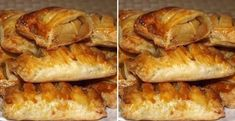 Jablkové taštičky - Receptik.sk Pork, Bread, Chicken, Kale Stir Fry, Brot, Baking, Breads, Pork Chops, Buns