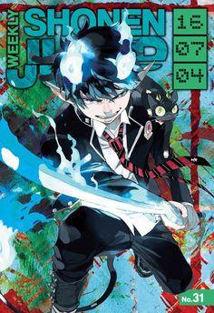 Blue Exorcist, Ao No Exorcist, Manga Anime, Manga Art, Anime Art, Poster Anime, Japanese Poster Design, Japon Illustration, Wall E