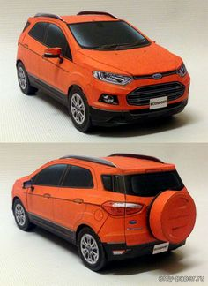 The Ford EcoSport is a subcompact crossover SUV, originally built in Brazil by Ford Brazil since at the Camaçari plant. Paper Model Car, Paper Models, Ford Ecosport, Car Ford, Crossover Suv, Suv Cars, Pen Case, Paper Crafts, Paper Toys