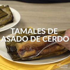 Pork Roast Tamales - Do you already know what you will do in the ? Take off your craving with this f - Good Food, Yummy Food, Tasty, Breakfast For Dinner, Breakfast Recipes, Mexican Food Recipes, Great Recipes, My Favorite Food, Favorite Recipes