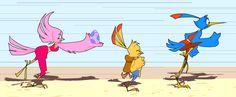 Birds to Ufo by thweatted.deviantart.com on @deviantART