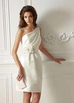 elegantes #Brautkleid fürs Standesamt, #wedding #dress