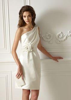 elegantes #Brautkleid fürs Standesamt, #wedding #dress
