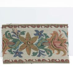"""Floral Jacquard Tapestry 5"""" (82 Yard Roll) Floral Multi"""