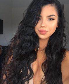Full Lace Wigs Peruvian Virgin Hair Loose Wave | WowEbony.com