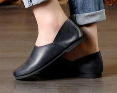 Nuevo Zapatos de cuero hechos a mano zapatos Oxford