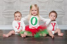 Christmas Appliqued Shirts  - so cute!