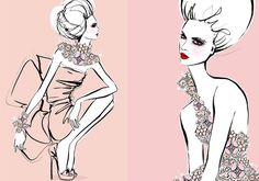 #websista #fashion #illustration #meganhess