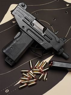 UZi Pistol in 9mm Luger Find our speedloader now! http://www.amazon.com/shops/raeindLoading that magazine is a pain! Get your Magazine speedloader today! http://www.amazon.com/shops/raeind