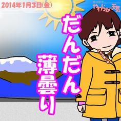 きょう(3日)の天気は「おおむね晴れ」。次第に薄い雲が広がってきますが、日中は大体晴れる見込み。雲が増えても、雪や雨が降ることはないでしょう。日中の最高気温はきのうと大体同じ、飯田市で8度の予想。