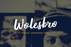 Wolesbro by Locomotype on @creativemarket