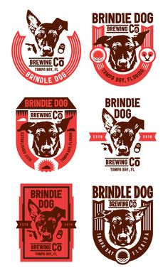brindledogbrewingco_logostudy by Kendrick Kidd
