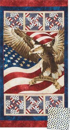 STONEHENGE STARS AND STRIPES WALL QUILT KIT