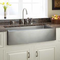 "36"" Hazelton Stainless Steel Farmhouse Sink - Farmhouse Sinks - Kitchen Sinks - Kitchen"
